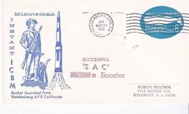 Successful Sac Minuteman B Booster Vandenberg Afb Ca May 27 1970 - $1.98