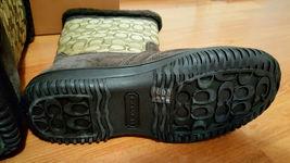 Coach Sherman Sig Suede/Sig C Chestnut/Khaki Cold Weather Boots-NIB 7M image 12