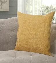 """Criss Throw Pillow (Set of 2) tan golden yellow 22"""" x 22"""" - $28.71"""