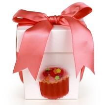 Seda France Happy Birthday Gift Candle Bow Coral 2oz - $18.00