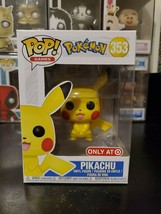 Funko Pop! Games Pokemon Pikachu #353 Target Exclusive Figure WITH PROTE... - $19.54