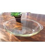 Vintage Glasbake Casserole Oval Baking Dish McKee 1940s Clear Glass Baki... - $18.00