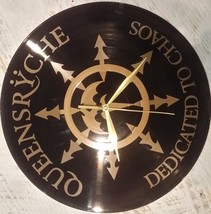 DIY  Queensrÿche Decorative Designed Modern Vinyl Record Wall Clock Sile... - $21.74