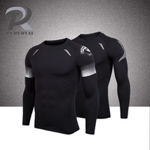 Fitness Men Running t shirt Quick-dry breathable Sport reflective T-Shirt - $19.99