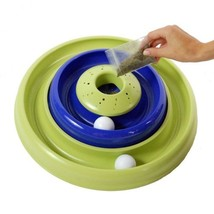 Bergan Turbo Catnip Hurrican Cat Toy Blue / Green - $17.99