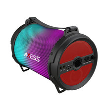 Axess Bluetooth Media Speaker with Wired Mic in Red - $90.12 CAD
