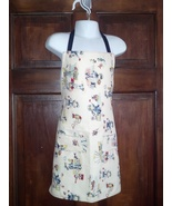 Toddler Apron (lined w/pocket) - Vintage Salior... - $12.99