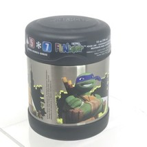Thermos Funtainer Food Jar Teenage Mutant Ninja Turtles 10oz Vacuum Insu... - $12.58