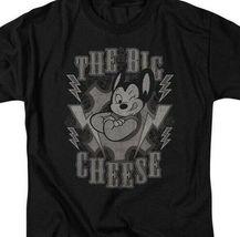 Mighty Mouse t-shirt The Big Cheese superhero retro cartoons graphic tee CBS924 image 3