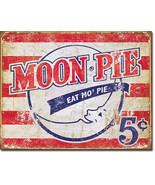 Moon Pie Marshmallow Sandwich Eat Mo' Pie American Food and Beverage Met... - $20.95