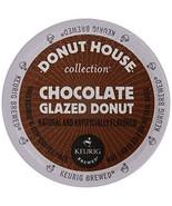 Donut House Chocolate Glazed Donut Coffee, 24 K cups, FREE SHIPPING  - $19.99