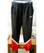 NWT SPALDING BLACK BOY'S JOGGING ATHLETIC SWEAT PANTS Sz LARGE (14/16) - $14.84