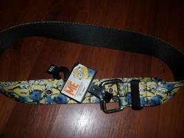 "Despecible Me belt, NWT, M/L 26 to 31"". heavy duty - $3.99"
