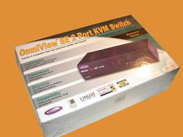 NEW OMNIVIEW SE 2 PORT KVM SWITCH MODEL F1D102 - $45.00