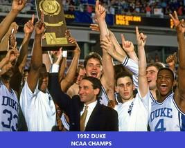 1992 Duke Blue Devils Team 8X10 Photo Picture Ncaa Basketball Celebration - $3.95