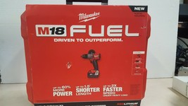 "Milwaukee 2803-22 M18 FUEL 1/2"" Drill Driver Kit New image 1"