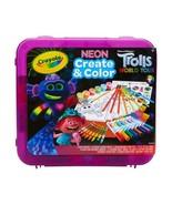 Crayola Neon Create & Color Case Trolls World Tour - $16.99