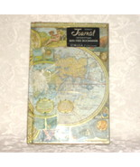 Brand new journal ~ map design cover and free bookmark ~ 160 ruled pages - $2.00