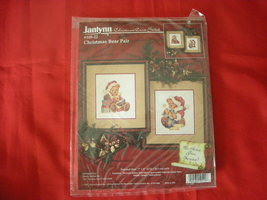 Janlynn Christmas Counted Cross Stitch Kit.  Pair Of Christmas Bears - $10.00