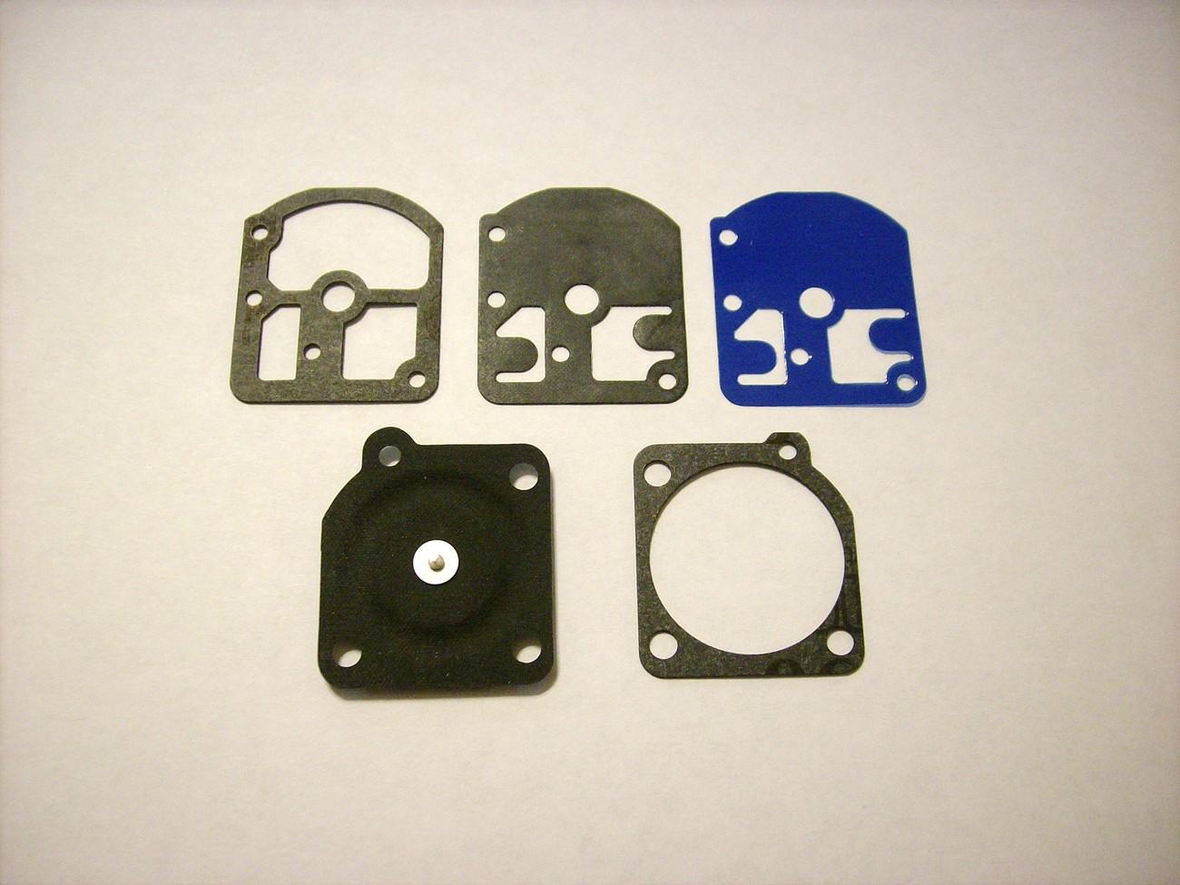 Carburetor rebuild kit fits Stihl FS106, 009, 010, 011, 012, FS160, FS180, FS220