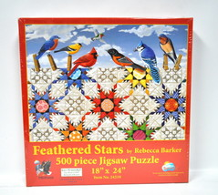 Feathered Stars Jigsaw Puzzle 500 Piece - $17.96