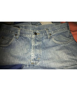 LEE Riders 33x31 Union Made In Usa Sanforized Denim Jeans Pants Button f... - $188.10