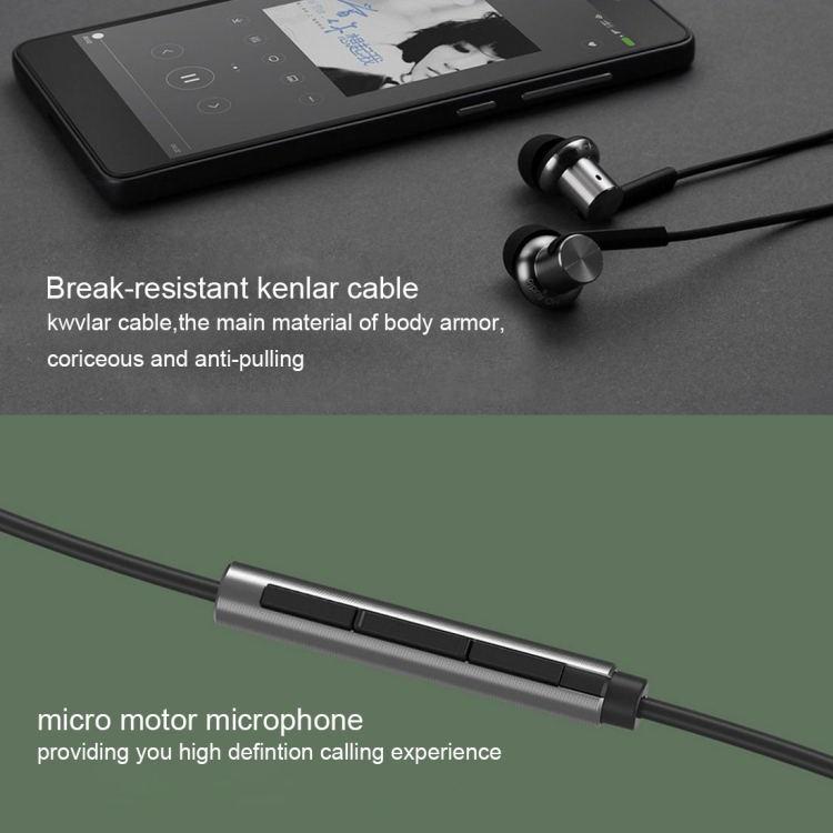 Original In-Ear Headphones Multi-unit Circle Iron Mixed Piston Wire Control+MIC