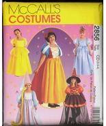 UNC Size 2 3 4 Snow White Belle Rapunzel Cinderella McCalls 343 2856 Pat... - $6.99