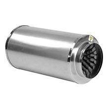 "MRT SUPPLY 8"" Inch Muffler Noise Reducer Duct Blower Fan Carbon Filter i... - $132.85"