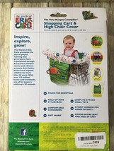 Eric Carle The Very Hungry Caterpillar Shopping Cart and Hi Chair Cover ... - $18.69