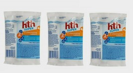 "3~ HTH SUPER 4-in-1 Chlorinating Chemicals 3"" TABLETS Feeders Floaters 4... - $18.99"
