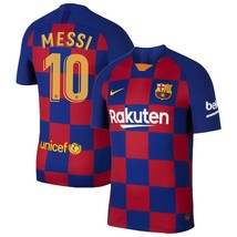Nike Lionel Messi Barcelona Royal 2019/20 Home Authentic Vapor Match Jersey - $59.99