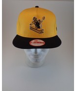 PITTSBURGH STEELERS New Era 9FIFTY Throwback SNAPBACK Cap HAT GOLD/BLACK... - $17.63