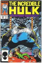 The Incredible Hulk Comic Book #339 Marvel Comics 1988 FINE - $6.66