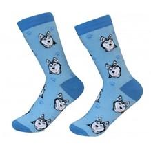 Siberian Husky Socks Unisex Dog Cotton/Poly One size fits most - $11.99