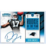 Devin Funchess RC 2015 Panini Contenders ROOKIE Autograph Auto#30/49-PAN... - $49.49