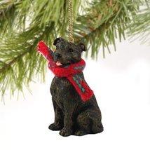 Staffordshire Bull Terrier Brindle Original Ornament - $14.69