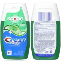 2 Pack Crest 4.6 Oz Complete Multi Benefit Plus Scope Minty Fresh Gel To... - $13.99