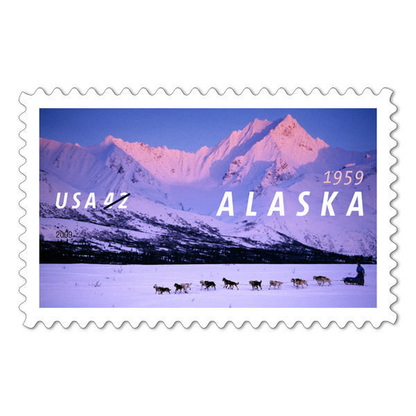 Primary image for 2009 42c Alaska Statehood, 50th Anniversary Scott 4374 Mint F/VF NH
