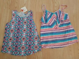 Lot of 2 Gymboree Shirts Girls 5 6 Tops Shirts Summer Spring Multi Color NWT - $18.76