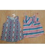 Lot of 2 Gymboree Shirts Girls 5 6 Tops Shirts Summer Spring Multi Color... - $18.76