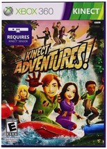 Xbox 360 Kinect Sport Game - Kinect Adventures for Microsoft System - $15.33