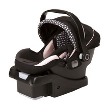 Safety onBoard Machine Washable Seat Air Infant Car Seat Pink Pearl With Canopy - $146.86