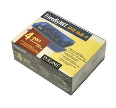 NEW ASANTE FRIENDLYNET USB HUB-4 4 PORT UNIVERSAL SERIAL BUS HUB - $41.98