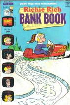 Richie Rich Bank Book Comic Book #9 Harvey Comics 1974 FINE+ - $7.84