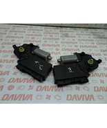 VW TOUAREG MK1 2007-2010 REAR RIGHT LEFT SIDE DOOR WINDOW CONTROL MOTOR SET - $38.02