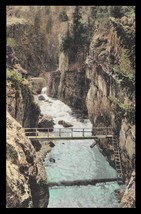 Uncompahgre River Bridge Postcard Colorado Ouray Albertype CO PC - $18.99