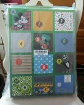Disney & Pixar 12 Days of Socks Holiday Advent Calendar for Men Fits Siz... - $43.00