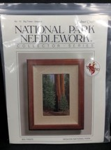 SEQUOIA  National Park Needlework BIG TREES Cross Stitch KIT Wyoming NEW - $49.50