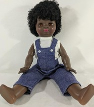 """LM Vintage B. Wright Vinyl Jointed African American 19"""" """"Ethnic People D... - $17.04"""